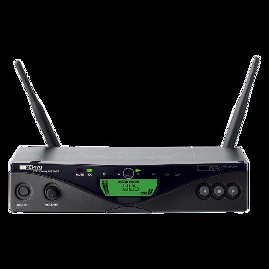 SR470 - Black - Professional wireless stationary receiver - Hero