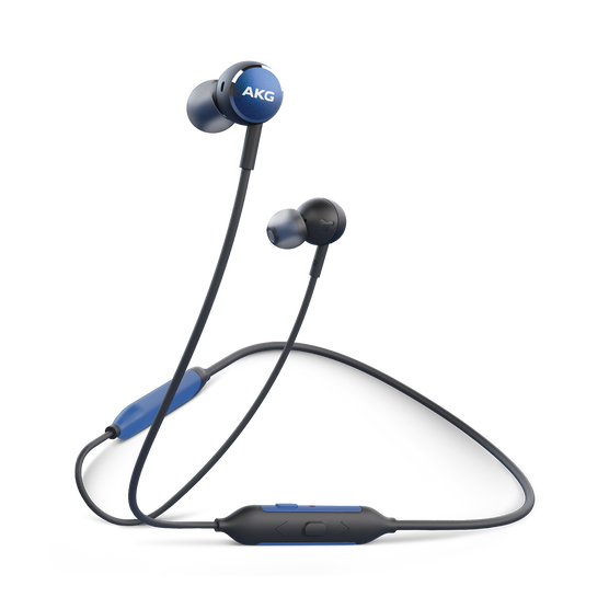 AKG Y100 Wireless - Blue - Wireless in-ear headphones - Hero