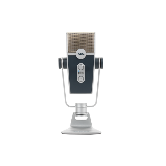 AKG Lyra - Silver - Ultra-HD Multimode USB Microphone  - Front