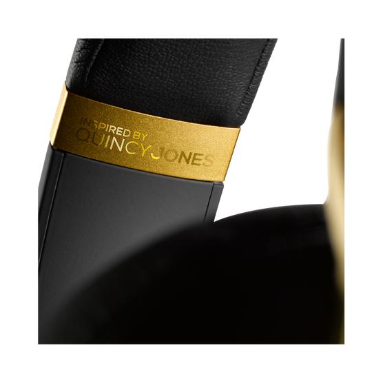 N90Q - Gold - Reference class auto-calibrating noise-cancelling headphones - Detailshot 8