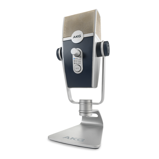 AKG Lyra - Silver - Ultra-HD Multimode USB Microphone  - Hero