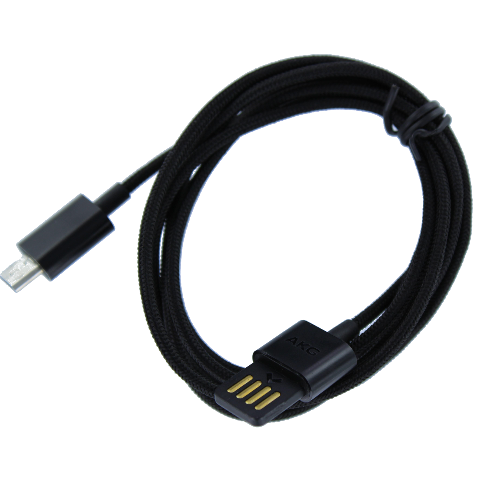 USB Charging cable, 120cm, AKG N90 - Black - Charging cable - Hero