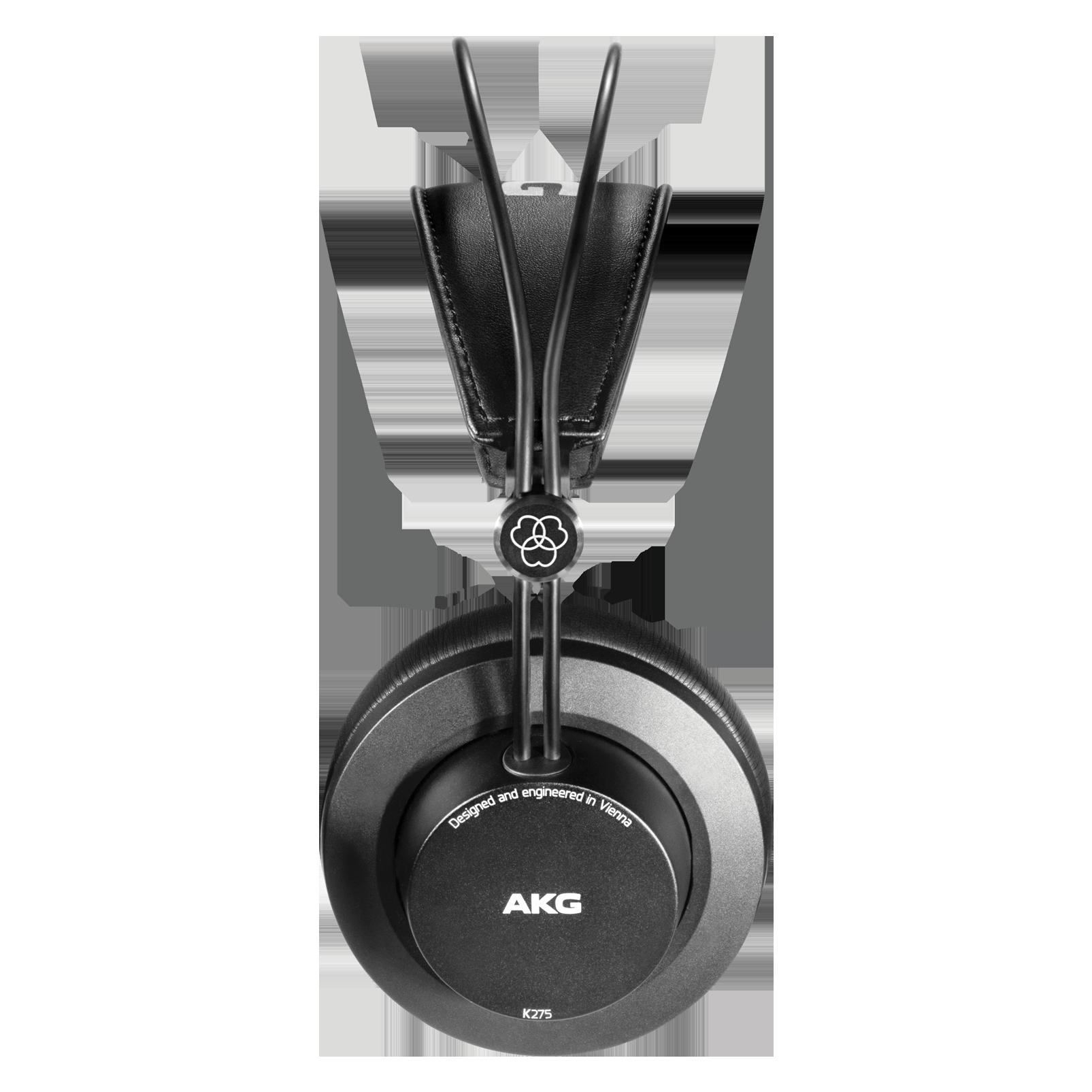 K275 - Black - Over-ear, closed-back, foldable studio headphones - Left