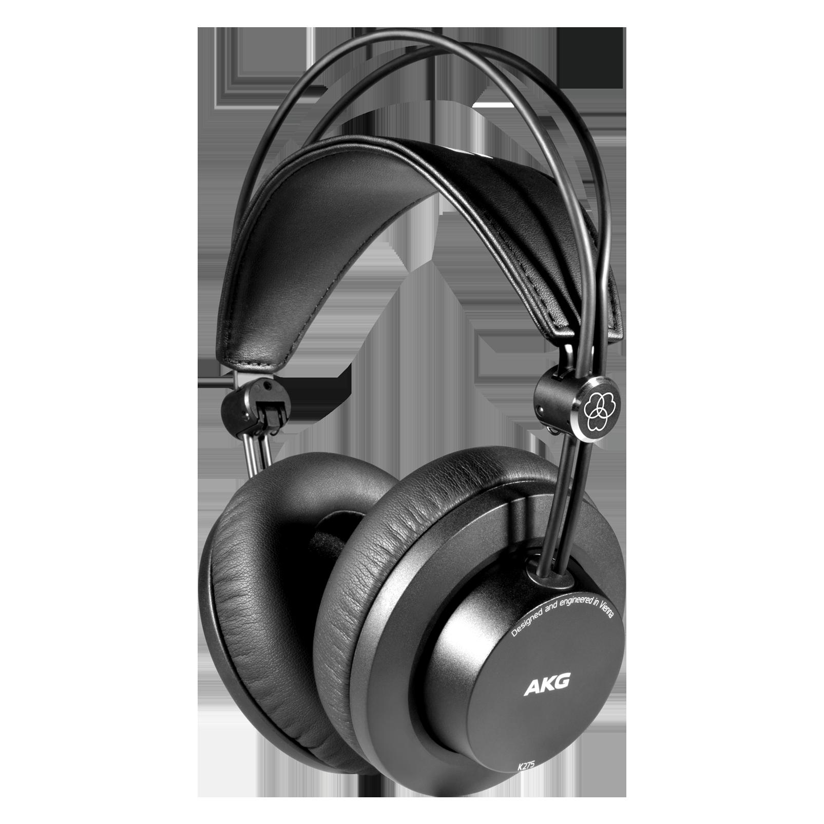 K275 - Black - Over-ear, closed-back, foldable studio headphones - Hero