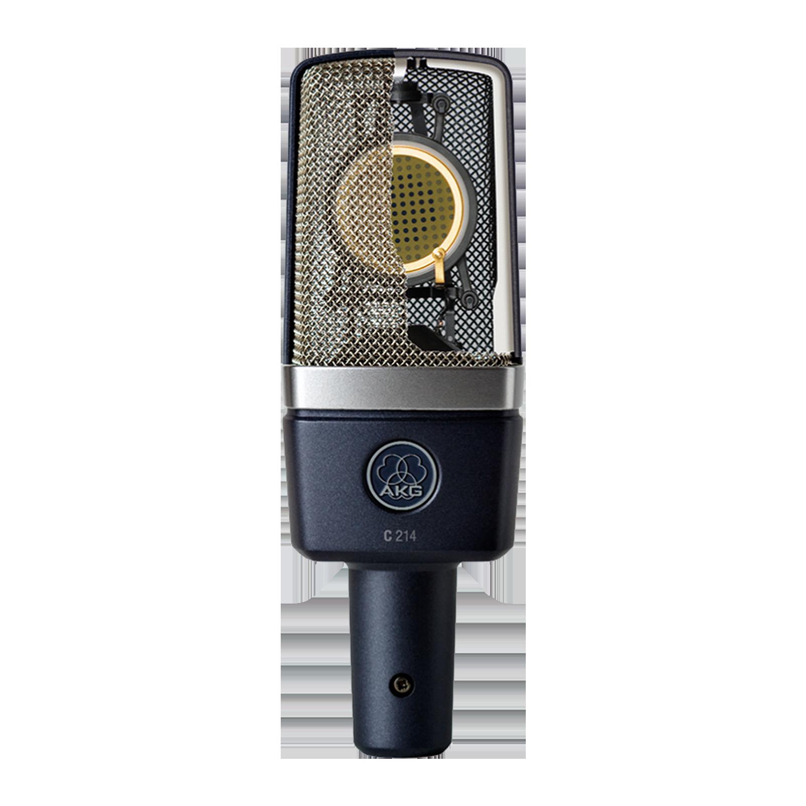 C214 - Black - Professional  large-diaphragm  condenser microphone - Detailshot 1