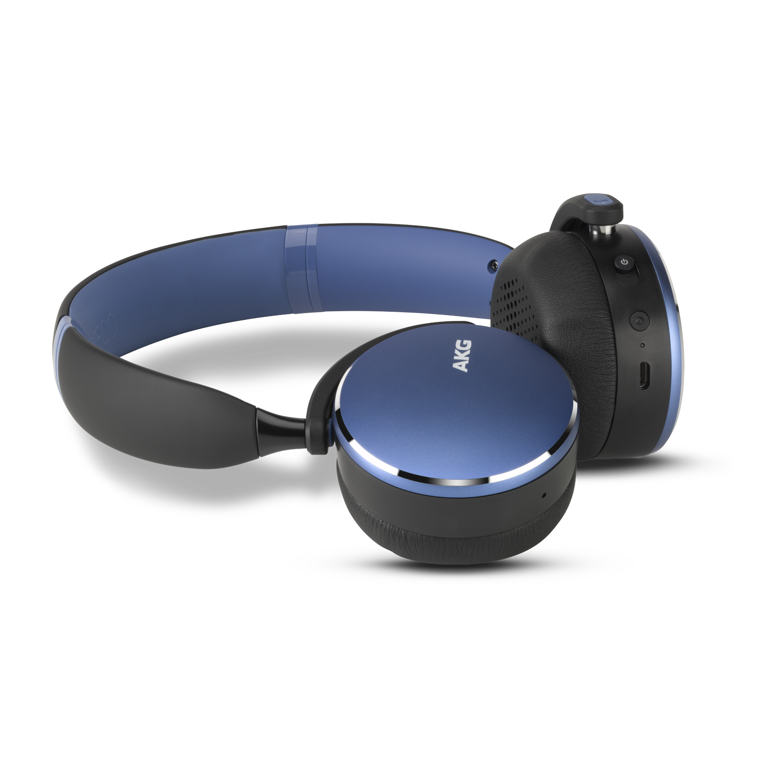 Y500 Wireless - Blue - Wireless on-ear headphones - Hero